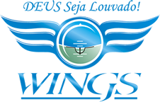 Wings Escola de Aviação Mobile Retina Logo